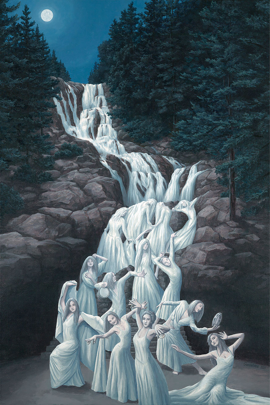 Magic Realism Paintings Rob Gonsalves 03