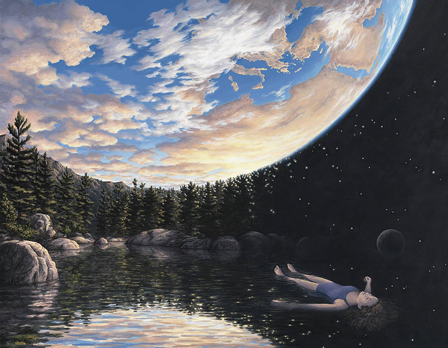 Magic Realism Paintings Rob Gonsalves 05