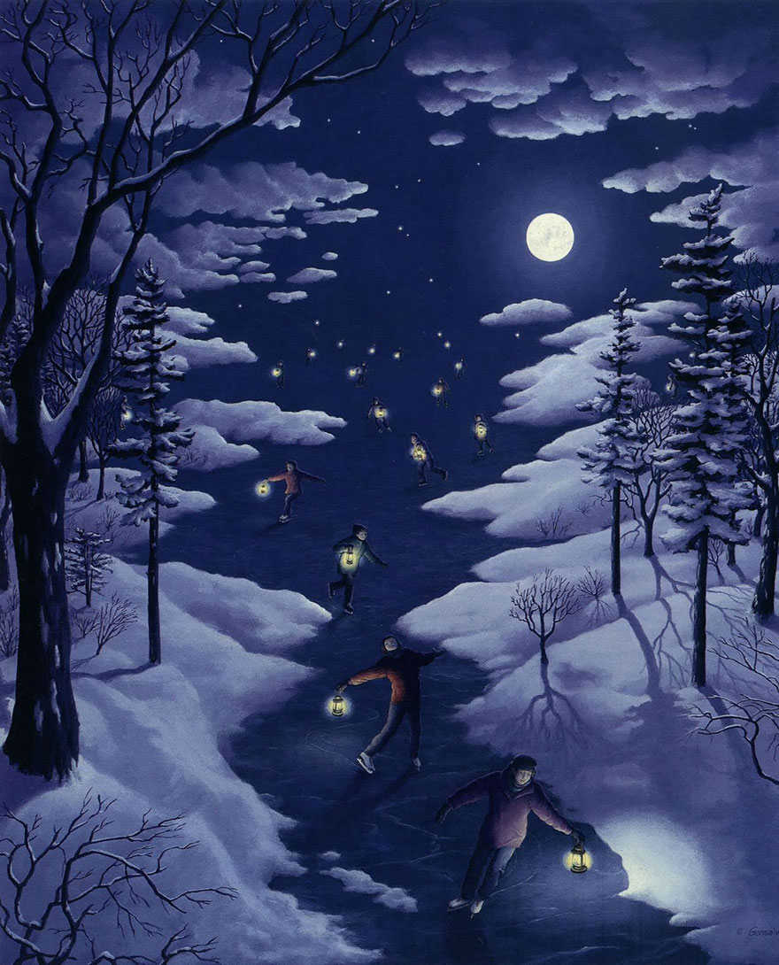 Magic Realism Paintings Rob Gonsalves 08