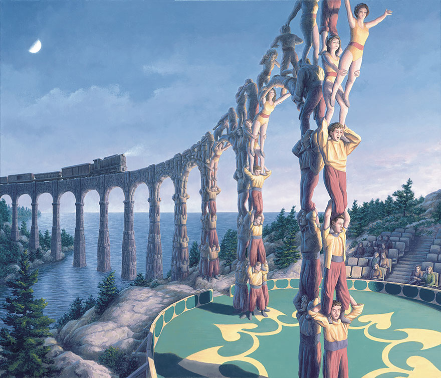 Magic Realism Paintings Rob Gonsalves 24