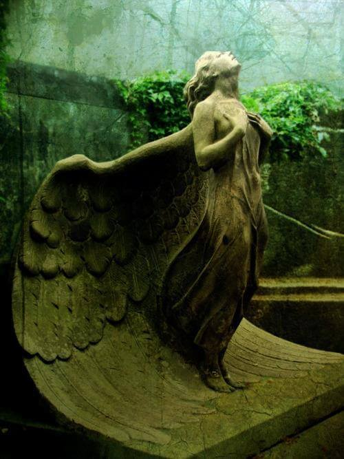 30 Of The World's Most Incredible Sculptures That Took Our Breath Away Statue Of An Angel At The Powazki Cemetery, Poland