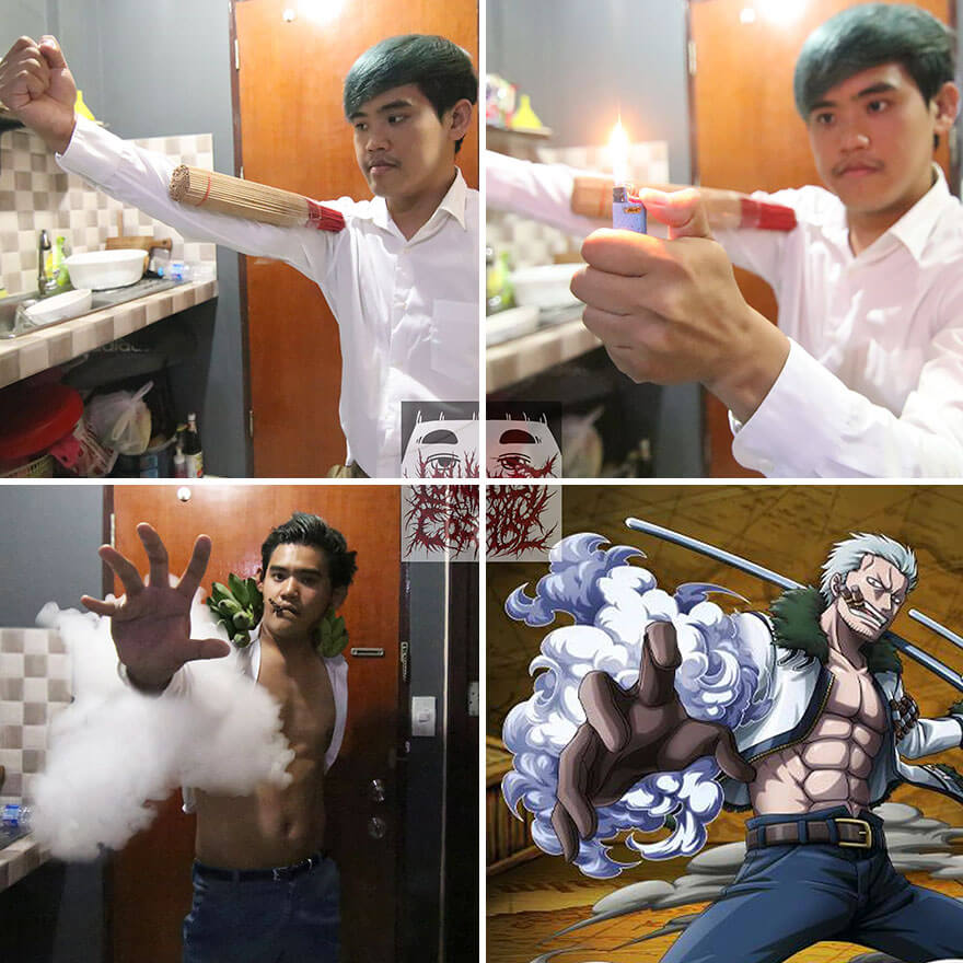 32 Hilarious Pictures Of Cosplay Guy Using Creative Low Cost Costumes 21